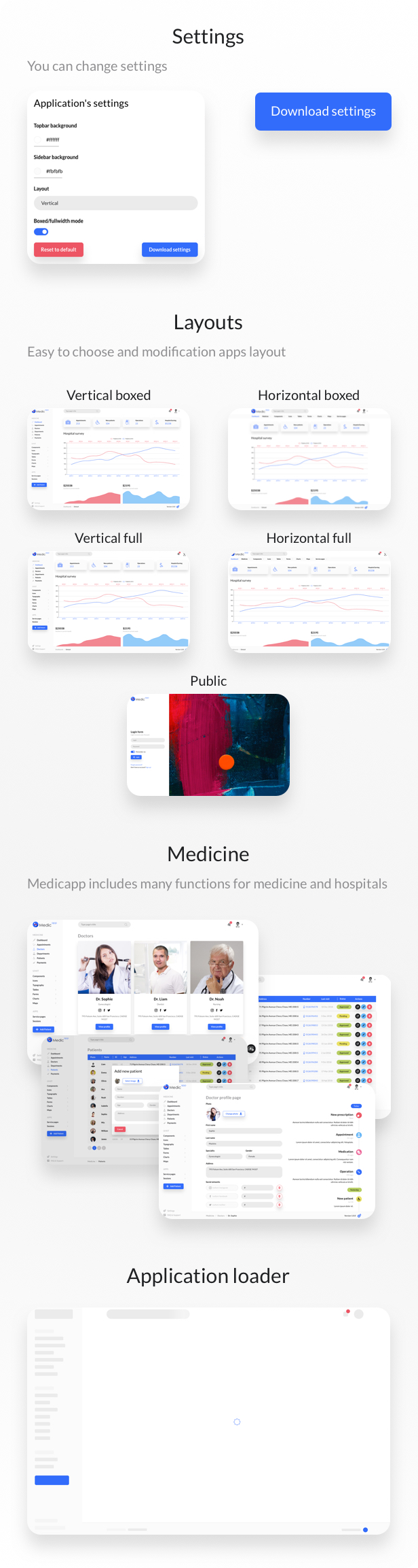 MedicApp - Medical HTML5/Bootstrap admin template - 2